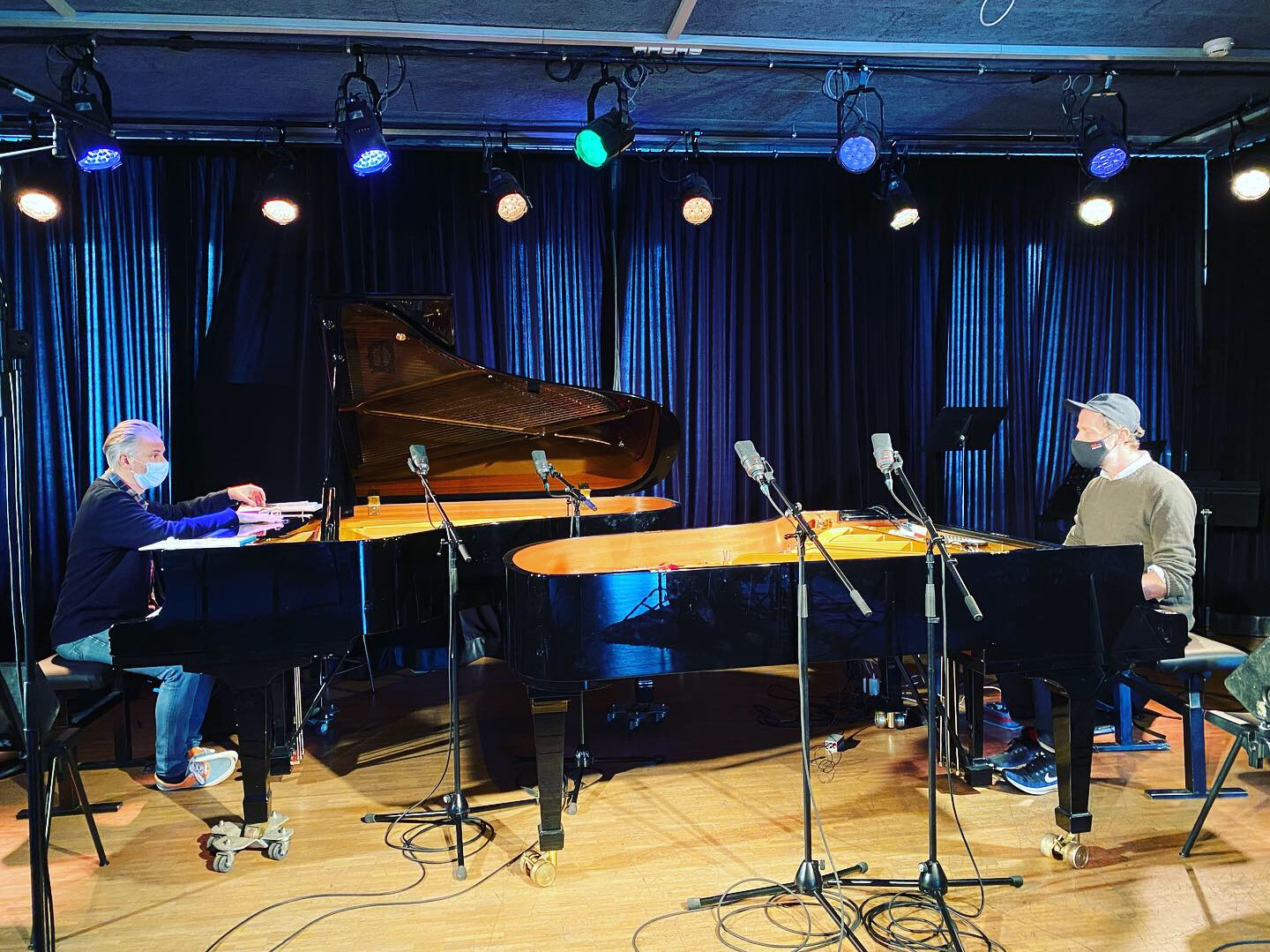 Piano duet recording on Espace 2 (RTS)